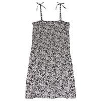 textil Flickor Korta klänningar Le Temps des Cerises PUNTA Svart / Vit