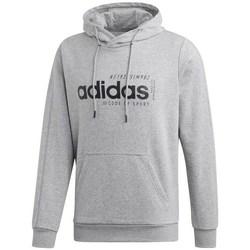 textil Herr Sweatshirts adidas Originals M Brilliant Basics Hooody Gråa