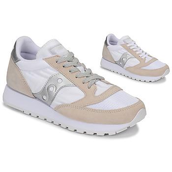 Skor Sneakers Saucony Jazz Vintage Vit / Beige / Silver