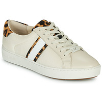 Skor Dam Sneakers MICHAEL Michael Kors IRVING STRIPE LACE UP Benvit / Leopard