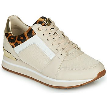Skor Dam Sneakers MICHAEL Michael Kors BILLIE Beige / Leopard