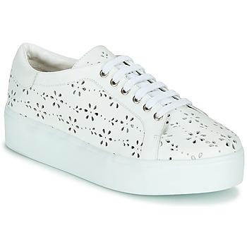 Skor Dam Sneakers Cristofoli NALA Vit