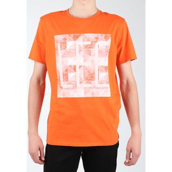 textil Herr T-shirts & Pikétröjor Lee Logo Tee L63GAIMO orange