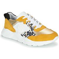 Skor Dam Sneakers Philippe Morvan VIRGIL Gul / Vit
