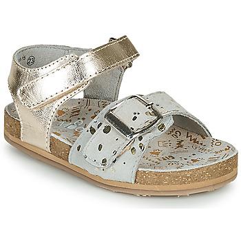 Skor Flickor Sandaler Mod'8 KORALY Guldfärgad