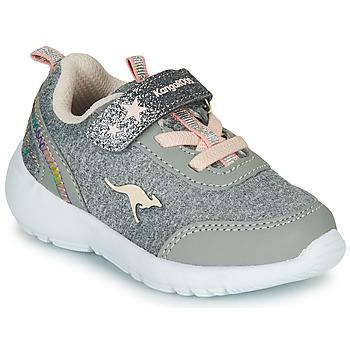 Skor Flickor Sneakers Kangaroos KY-Citylite EV Grå / Rosa