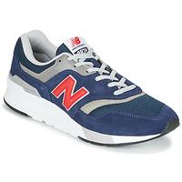 Skor Herr Sneakers New Balance 997 Blå / Röd