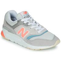 Skor Dam Sneakers New Balance 997 Grå / Blå / Rosa