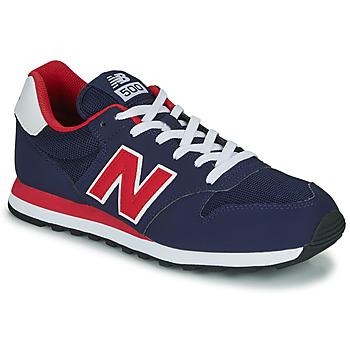 Skor Herr Sneakers New Balance 500 Blå / Röd