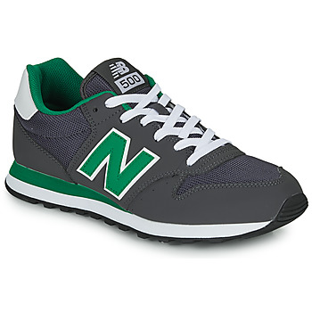 Skor Herr Sneakers New Balance 500 Grå / Grön