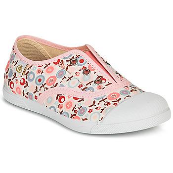 Skor Flickor Sneakers Citrouille et Compagnie RIVIALELLE Rosa / Flerfärgad