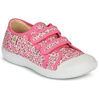Skor Flickor Sneakers Citrouille et Compagnie GLASSIA Rosa / Flerfärgad