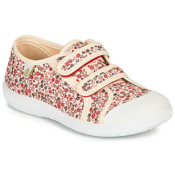 Skor Flickor Sneakers Citrouille et Compagnie GLASSIA Benvit / Flerfärgad