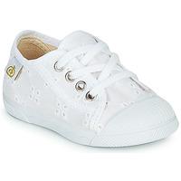 Skor Flickor Sneakers Citrouille et Compagnie MALIKA Vit