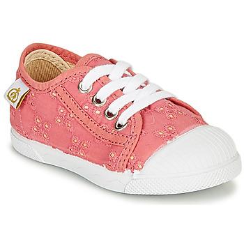 Skor Flickor Sneakers Citrouille et Compagnie MALIKA Rosa