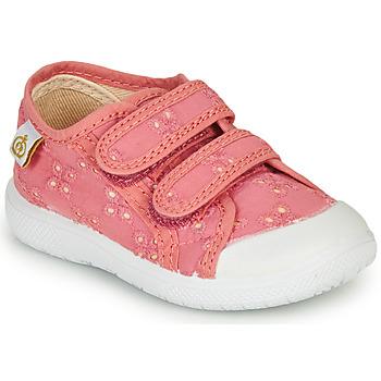 Skor Flickor Sneakers Citrouille et Compagnie MELVINA Rosa