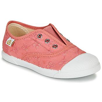 Skor Flickor Sneakers Citrouille et Compagnie RIVIALELLE Rosa