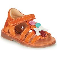 Skor Flickor Sandaler Citrouille et Compagnie MIETTE Orange