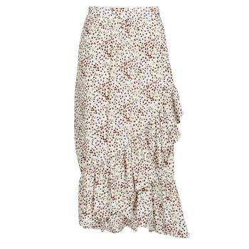 textil Dam kjolar Betty London MADILOU Vit / Röd