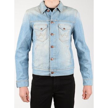 textil Herr Jeansjackor Wrangler Denim Jacket W458QE20T blue