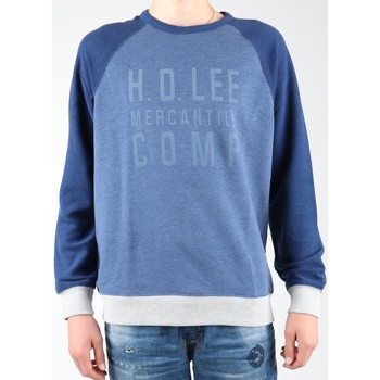textil Herr Fleecetröja Lee Graphic Crew SWS L80ODELR blue