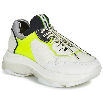 Skor Dam Sneakers Bronx BAISLEY Vit / Gul