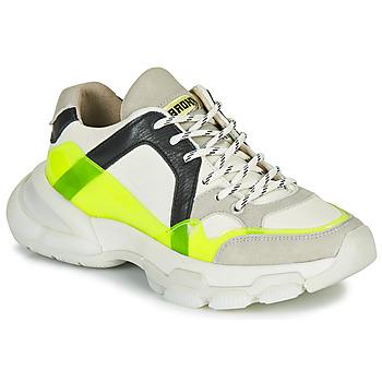 Skor Dam Sneakers Bronx SEVENTY STREET Vit / Gul