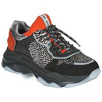 Skor Dam Sneakers Bronx BAISLEY Svart / Orange