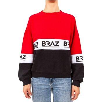 textil Dam Sweatshirts Braz 120972TSH Röd