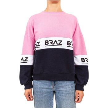 textil Dam Sweatshirts Braz 120972TSH Rosa