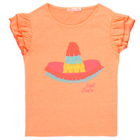 textil Flickor T-shirts Billieblush / Billybandit NORE Orange
