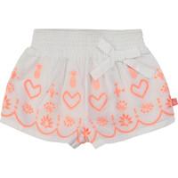 textil Flickor Shorts / Bermudas Billieblush / Billybandit NEYO Vit