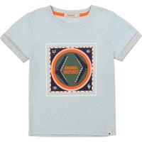 textil Pojkar T-shirts Billieblush / Billybandit NOLVIO Blå