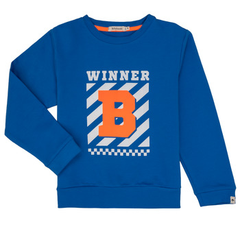 textil Pojkar Sweatshirts Billieblush / Billybandit NAVALI Blå