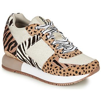 Skor Dam Sneakers Gioseppo BIKANER Beige / Brun