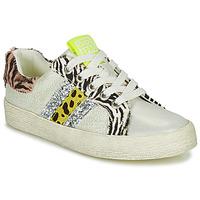 Skor Flickor Sneakers Gioseppo TIRRENIA Vit / Gul / Silver