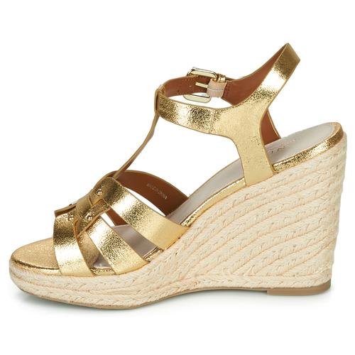 PERLINE  André  sandaler  dam  guldfärgad