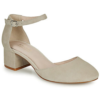 Skor Dam Pumps André CILLY Beige