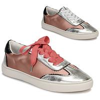 Skor Dam Sneakers André LA VOLTIGEUSE Rosa