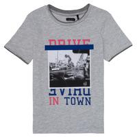 textil Flickor T-shirts Ikks AMELIE Grå / Melerad
