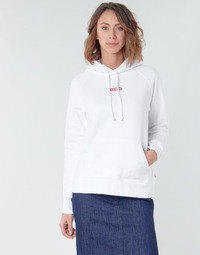textil Dam Sweatshirts Levi's RAPHIC SPORT HOODIE BABY TAB HOODIE Vit