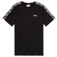 textil Barn T-shirts Fila FREDDY Svart