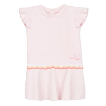 textil Flickor Korta klänningar Lili Gaufrette NARITTE Rosa