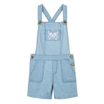 textil Flickor Uniform Lili Gaufrette NANYSSE Blå