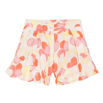 textil Flickor Shorts / Bermudas Lili Gaufrette LORIA Flerfärgad