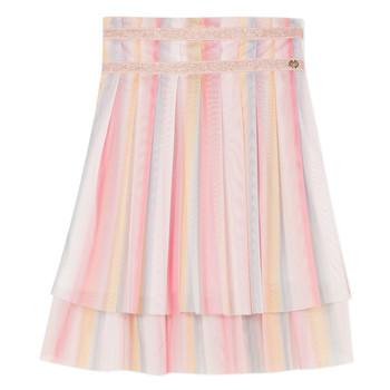textil Flickor Kjolar Lili Gaufrette BENIENE Flerfärgad