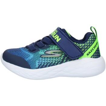 Skor Barn Sneakers Skechers 97858N Blue Lime