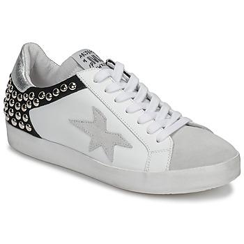 Skor Dam Sneakers Meline GELLABELLE Vit / Svart