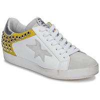 Skor Dam Sneakers Meline GELLABELLE Vit / Senapsgul