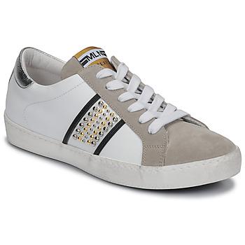 Skor Dam Sneakers Meline GARILOU Vit / Beige